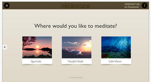 Mindscape Meditation Screenshot