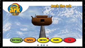 Park in the Ark interface