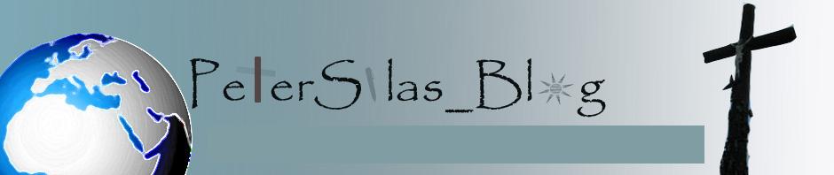 Peter Silas Blog